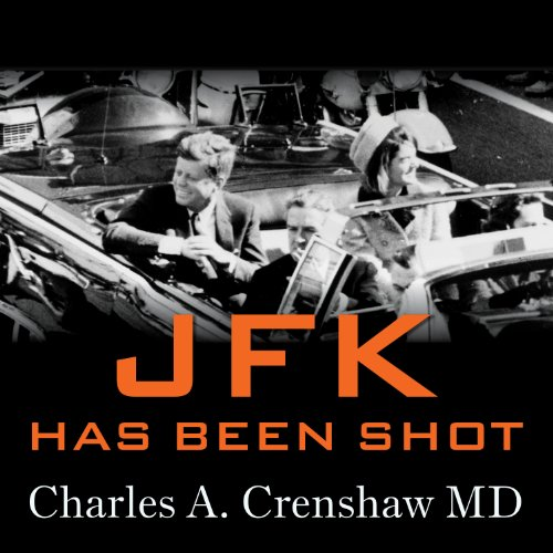 JFK Has Been Shot audiobook cover art