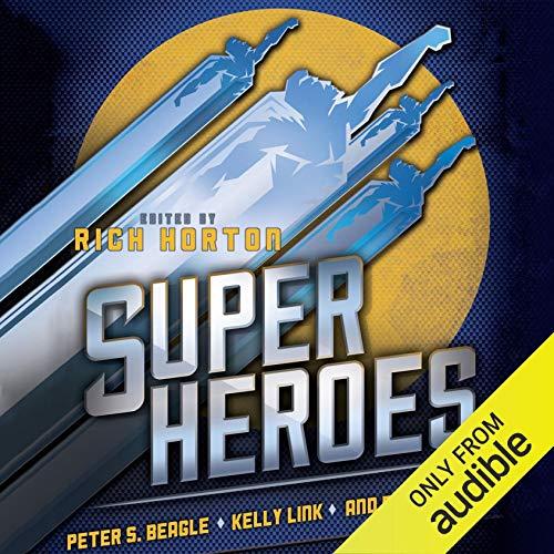 Superheroes cover art