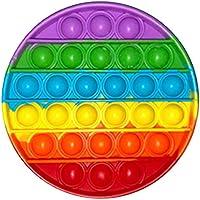 2021 Nieuwe Fidget Speelgoed Push Pop Bubble, Regenboog Stress verlichten voor ADHD Autisme Angst - Push Pop It Bubble...