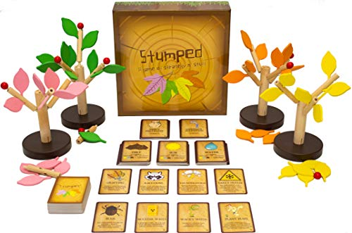 Outside In Games Stumped Game of Tree Dominion Strategy Board Game! Awesome Party Gameplay for Families and Board Game Nights! Best for Adults, Teens, and Kids Ages 12 and Up