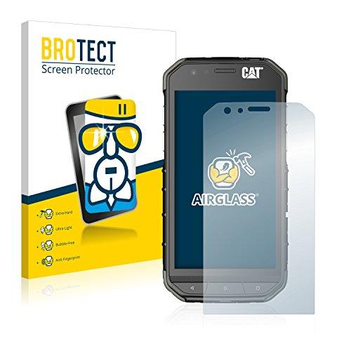 BROTECT Panzerglas Schutzfolie kompatibel mit Caterpillar Cat S31 - AirGlass, extrem Kratzfest, Anti-Fingerprint, Ultra-transparent