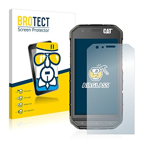BROTECT Panzerglas Schutzfolie kompatibel mit Caterpillar Cat S31 - AirGlass, 9H Festigkeit, Anti-Fingerprint, HD-Clear