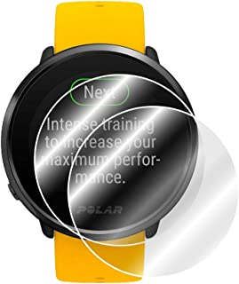 IPG for Polar Ignite Advanced Waterproof Fitness Watch Screen Protector (2 Units) Invisible Ultra HD Clear Film Anti Scrat...