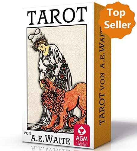 Premium Tarot von A.E. Waite - Pocket (Tarotkarten im Pocketformat, 5,7 x 8,9 cm)
