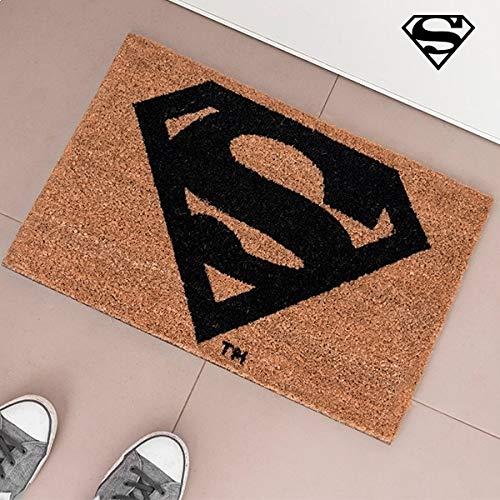 Superman alfombra de entrada felpudo