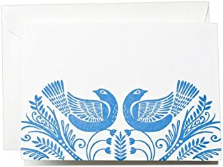 Crane & Co. Letterpress Birds Note (CF1327)