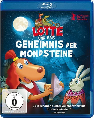 Lotte and the Moonstone Secret ( Lotte ja kuukivi saladus ) ( Lotte & the Moon stone Secret ) [ Origine Tedesco, Nessuna Lingua Italiana ] (Blu-Ray)