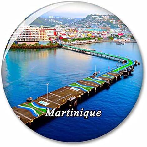 Martinique Koelkastmagneten Decoratieve Magneet Flesopener Toerist Stad Reizen Souvenir Collectie Gift Sterke Koelkast Sticker