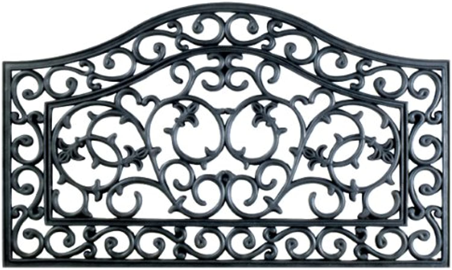 Imports Decor Rubber Doormat, Country Gate, 18-Inch by 30-Inch