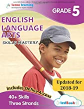 Lumos Skills Mastery tedBook - 5th Grade English Language Arts: Standards-based ELA practice workbook