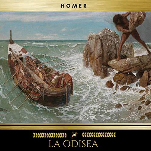 La Odisea audiobook cover art