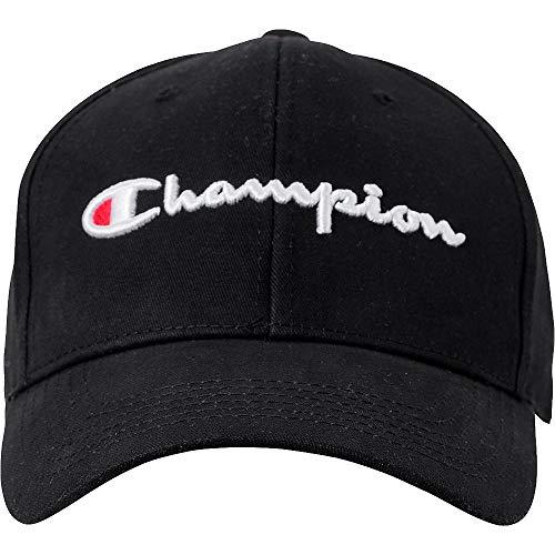 Champion Life Herren H0543 Baseball Cap, schwarz, Einheitsgröße