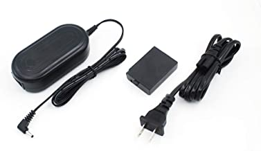 Bex-ing ACK-E10 Camera AC Power Supply Adapter for Canon EOS 1100D 1200D 1300D 1500D Rebel T3 T5 T6 T7 Kiss X50 X70 X80 X90 Digital Cameras