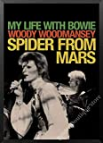 JW-online El Cantante de Rock británico David Bowie Retro Rock Poster de Papel Kraft Música Café Bar Decorativos Adhesivos de Pared de Dormitorio / 5,11,21x30cm sin Marco