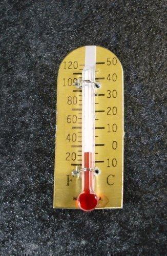 Melody Jane Maison de Poupées Miniature Accessoire de Jardin Thermomètre 017
