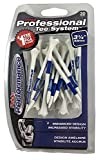 Pride Performance Professional Tee System Plastic Golf Tees, 3-1/4 inch - 30 count (Blue)