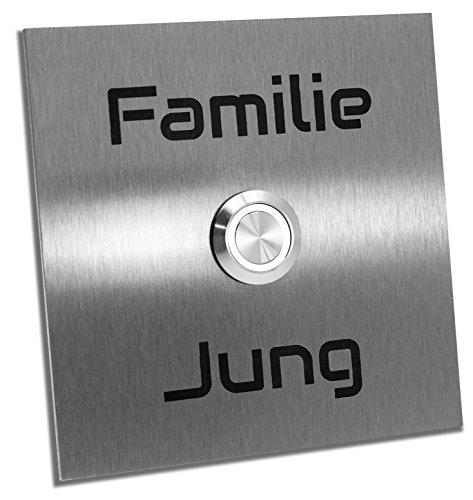 Jung-Edelstahl-Design Türklingel