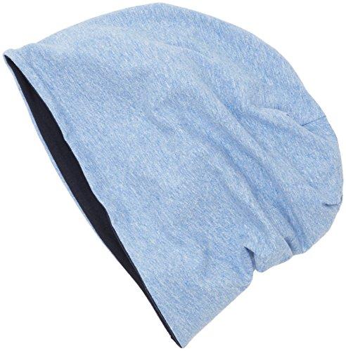 MSTRDS Jersey Beanie Reversible Bonnet, Multicolore (ht.Indigo/Bleu Marine 10377,3899), Taille Unique Femme