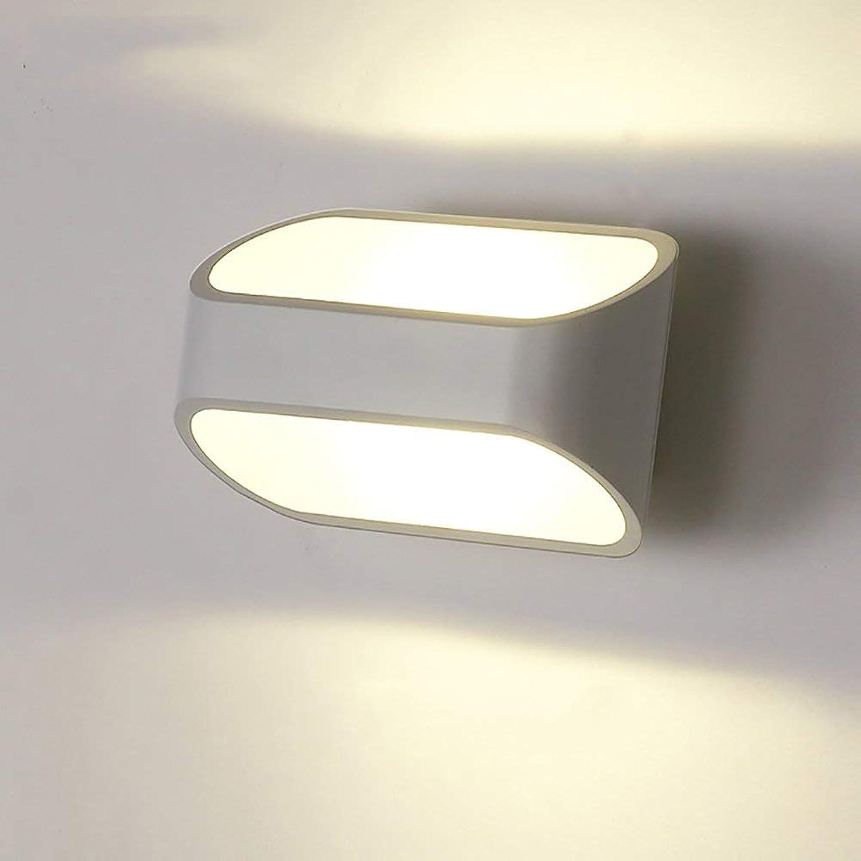 Wandleuchten kreative Wandleuchte, Schlafzimmer Nachttischlampe Wohnzimmer dekorative Leuchten, einfache Gang schaltet LED Wandleuchten, dekorative Wandleuchten (Gre  18  10 cm)
