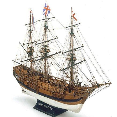 Mamoli - Modello Kit Barca da Collezione Bounty Scala 1:64 - L.610mm,H.465mm