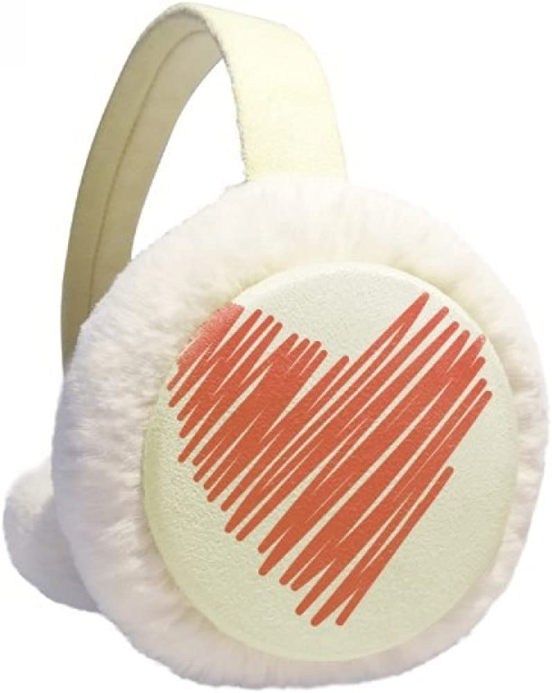 Heart Graffiti safety Drawing Challenge the lowest price of Japan ☆ Valentine's Day Winter K Warmer Ear Cable