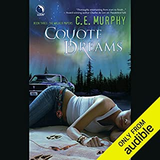 Coyote Dreams audiobook cover art
