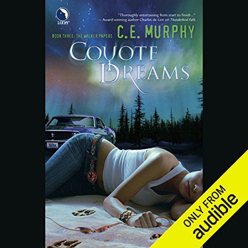 Coyote Dreams audiobook cover art