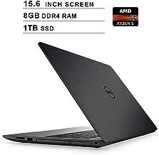 Dell 2019 Premium Inspiron 15 500015.6 Inch FHD 1080P Laptop, AMD Ryzen 5 2500U up to 3.6 GHz, AMD Radeon Vega8, 8GB DDR4 RAM, 1TB SSD, HDMI, Bluetooth, WiFi, Windows 10,Black
