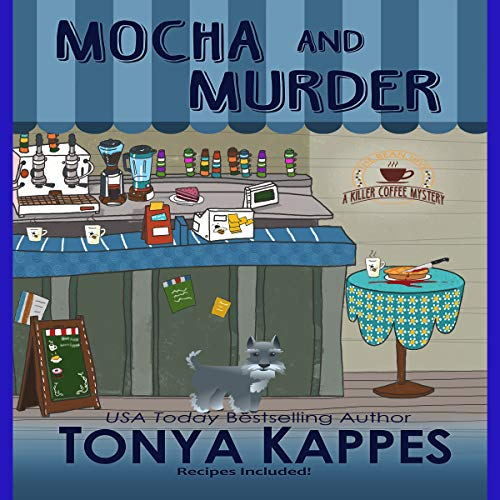 Mocha and Murder audiobook cover art