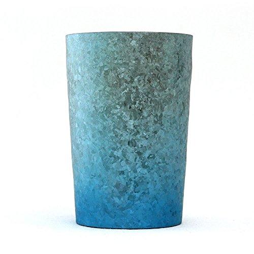 HORIE新潟県燕産チタン2重タンブラー窯創りライト270cc結(ゆい)ブルー×ピンク2色セットT09KM270WDSET