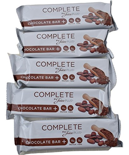 JUICE PLUS Chocolate Meal Replacement Bars - 5 Bars