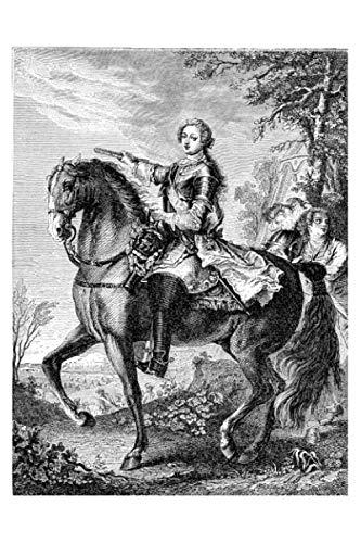 e.x.o.b.o   Notizbücher: Umfangreiches und exotisches Blanko-Journal mit einzigartiger Vintage-Handzeichnung (Ludwig XV....