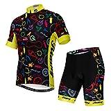 JPOJPO Ciclismo Jersey Per Gli Uomini Pro Team Abbigliamento Bicicletta MTB Bike Maglie Pantaloncini Set