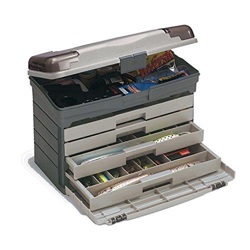 Plano Tackle System mit Vier Schubladen, Premium-Aufbewahrung, Werkzeug-Organisation, Premium-Zubehör