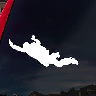 SoCoolDesign Skydiving Freefall Car Window Vinyl Decal Sticker 4