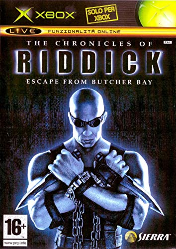 Xbox - The Chronicles of Riddick: Escape from Butcher Bay - [Version Italiana]