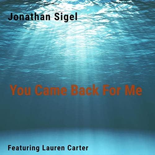 Jonathan Sigel feat. Lauren Carter