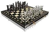CHROME SPARTAN Chess Set 16