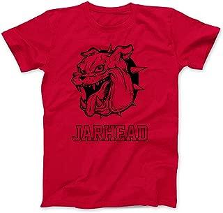 Egoteest - Jarhead Shirt - Marine Bulldog Mascot Shirt - Jarhead Bulldog Logo Shirt - Army Shirt