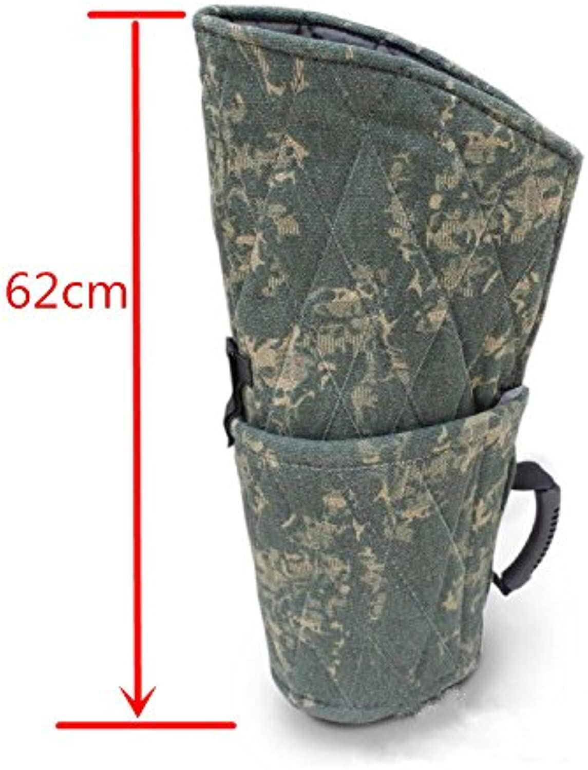 Lily&her friends Bite Sleeve Guard Dog Training for Young Dog Fit Both Arms, Pet Hard Outer Bite Sleeve (Camouflage)