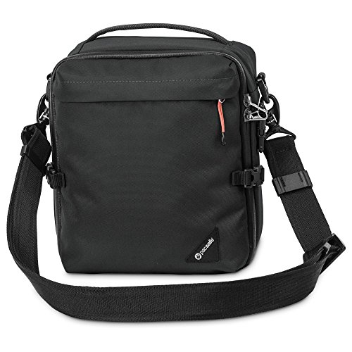 Pacsafe Camsafe diefstalbescherming LX8 camera schoudertas, zwart
