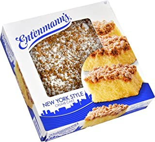 Entenmann's Crumb Cake Bundle (2 NY Style Crumb Cake) BONUS 1 FREE ENTENMANN'S Individually wrapped Crumb Cake