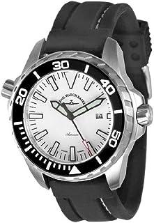 Zeno Watch Basel - Reloj para Hombre Analógico Automático con Brazalete de Silicona 6603-a2