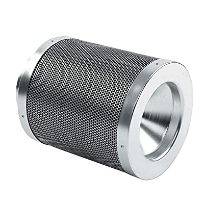 Sican 6 Inch Activated Carbon Filter Charcoal Hydroponic Grow Odor Ducting 300mm