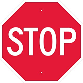 Best shape of a red stop road sign Reviews