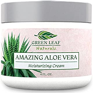 Amazing Aloe Vera Moisturizing Cream for Women - All Purpose Facial Skincare for All Skin Types - Pure Natural Ingredients...