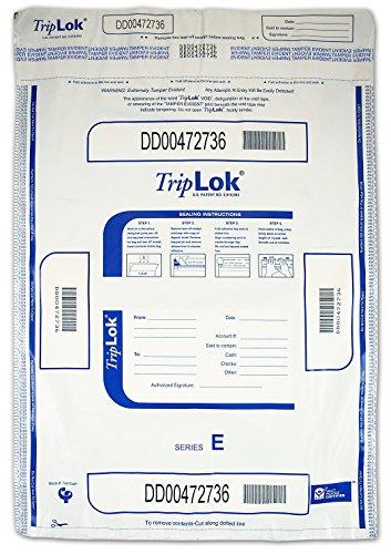 15 X 20 TripLok, White w/Pocket, 50 Deposit Bags