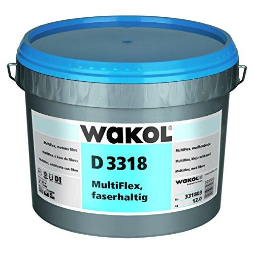 Wakol D 3318 MultiFlex PVC-Klebstoff, faserhaltig, 6kg