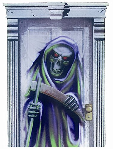 spooky'Halloween Taille Porte-mort-Idéal pour fêtes fantôme et citrouilles
