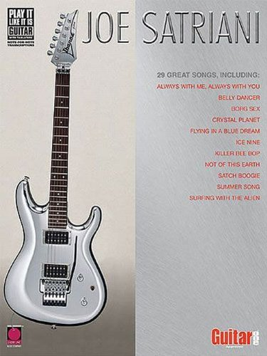 Partition : Satriani Joe Anthology Guit. Tab